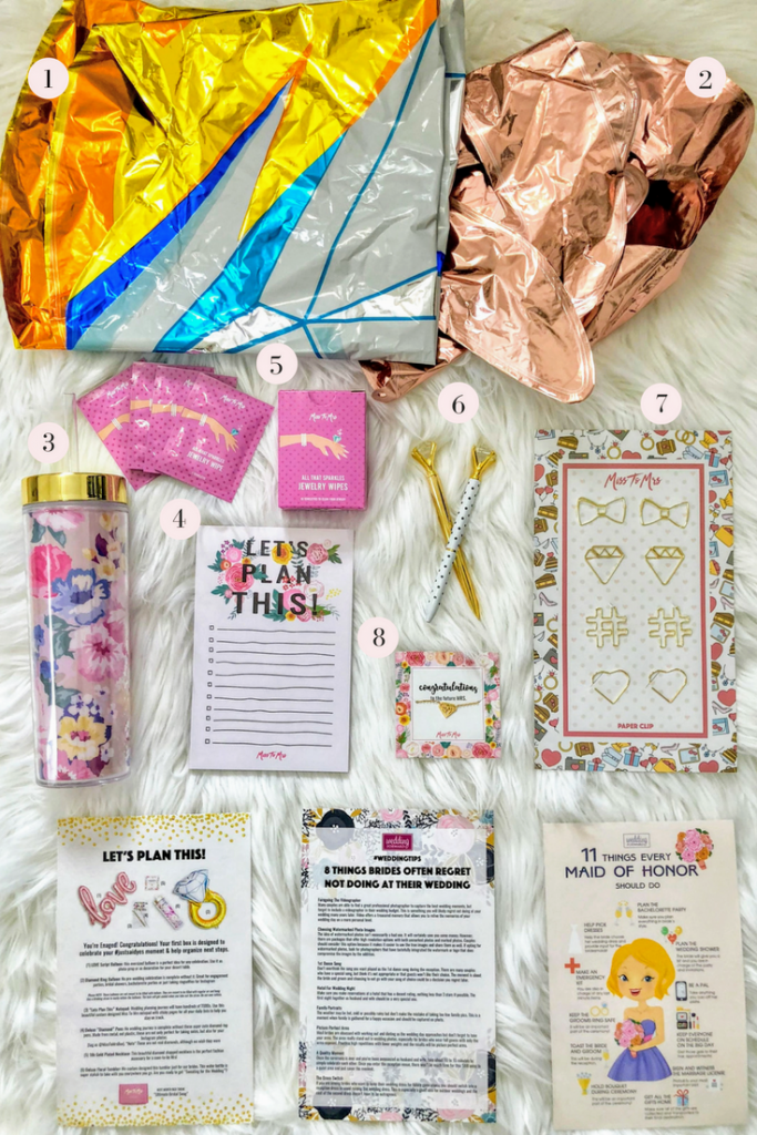 Miss to Mrs: Bridal Subscription Box Review - Dani Thompson