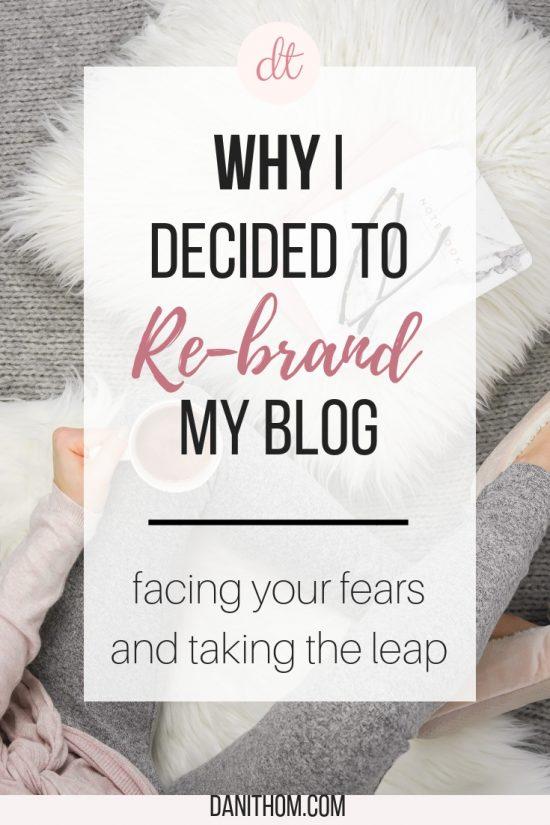why i rebranded