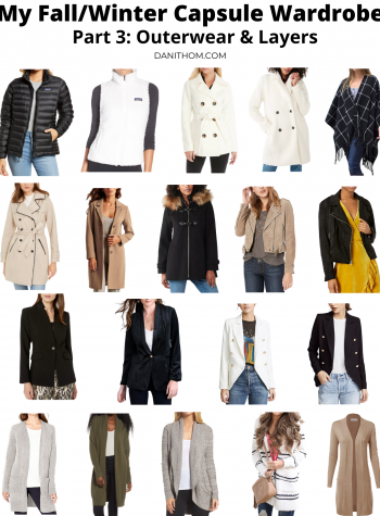 fall winter capsule wardrobe